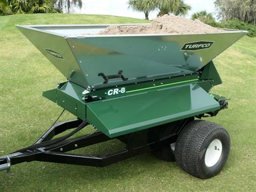 CR-8 Topdresser and Material Handler