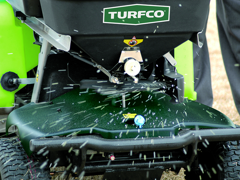 Hard trim reduces cleanup and wasted fertilizer