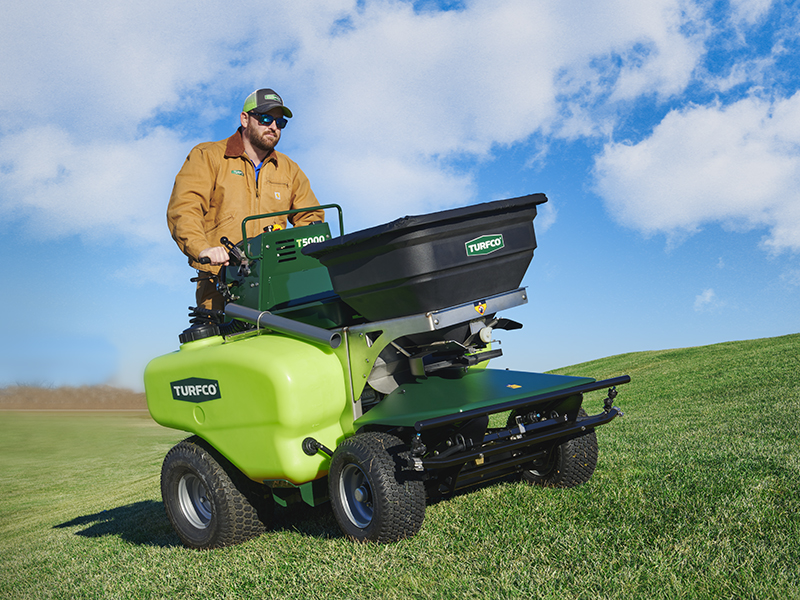 Turfco T5000 Spreader Sprayer Applicator